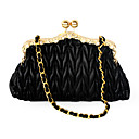 Faux Leather With Rhinestone Evening Handbags/ Clutches More Colors Available