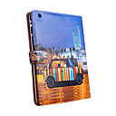 Leather Protective Case For iPad2-Night Scene