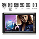 7 Inch Digital Touchscreen 2Din Car DVD Player with GPS Bluetooth DVB-T