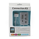 3*High-Speed USB Hub + Camera Connection Kit + SD/MMC/MS Card Reader Combo Kit for iPad, iPad 2 and The new iPad