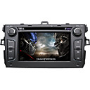 7 Inch Car DVD Player For Toyota Corolla (2008-2010) with GPS TV