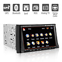 Autoradio DVD 7 pouces / GPS / Bluetooth / Fonction TV / Radio RDS