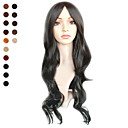 Capless Long Black Natural Curly Hair Wig Multiple Colors Available