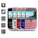Four SIM 2.3 Inch Qwerty Keyboard Cell Phone (WIFI Dual Camera TV FM)