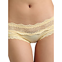 6 Pieces Bamboo Carbon Fiber Low Waist With Lace Wedding/ Party/ Honeymoon Panties