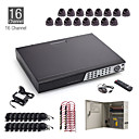 Cctv 16 canali Kit + 16pcs 20m dome + hdd da 1 TB