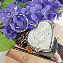 Personalized Stainless Steel Compact – Vivacious Flower