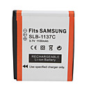 1100mAh 3.7V Digital Camera Battery SLB-1137C for SAMSUNG i7