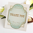 Flat Thank You Card - Geometrical Figure (Set of 50)