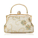 Satin With Rhinestone Evening Handbags/ Clutches/ Top Handle Bags More Colors Available