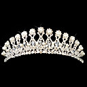 Gorgeous Alloy With Austria Rhinestones/ Imitation Pearl Wedding Bridal Tiara