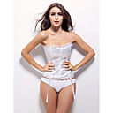 en satin de marie bustier corset / shapewear occasion spciale