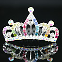 Gorgeous Cubic Zirconia Wedding Flower Girl Tiara/ Headpiece More Colors Available