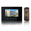 Wired Intercom 7 Inch Touch Screen Video Door Phone with Hidden Camera (1 Camera To 1 Monitors)