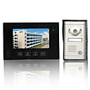 Recordable 7 Inch Touch Screen Video Door Phone with Alloy Rain-proof Cover Camera