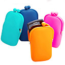 Bolsa de Silicone para iPhone e Dinheiro