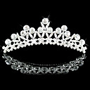 Gorgeous Alloy With Cubic Zirconia Bridal Tiara