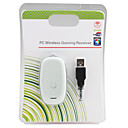 PC Wireless Gaming Receiver for PC/Xbox 360 (White)