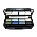 brillan 8 colores paleta de sombra de maquillaje de ojos con un pincel libre