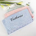 Personalized Name Flower Towel