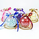 Transparent Ball Favor Box With Bells And Bow (Set of 12)