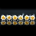 6 Gorgeous Rhinestones Wedding Bridal Pins/ Flowers More Colors Available