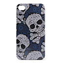 Personalized Protective Hard Case for iPhone 4 / 4S (Skeleton pattern)