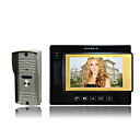 7 Inch Color LCD Screen Door Phone (Snapshot, Recording Function, 1 Indoor Screens)