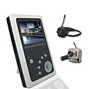 2,5 pollici TFT LCD da 2,4 GHz baby kit wireless dvr monitor con piccola telecamera