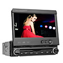 DVD Player Automotivo 1 Din 7 polegadas GPS Bluetooth RDS DVB-T