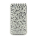 Protective Hard Case with Crystals and Pearl for iPhone 4