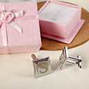 Personalized Square Block Cufflinks