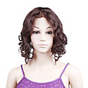 "100% Indian Remy Hair Fashion Mixed Color Big Curly 16"" Full Lace Wig"