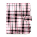 Synthetic Lattice Leather Case Cover for 8 Inch Tablet PC (Pink)
