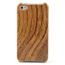 Emulation Wood Pattern Protective Case for iPhone 4 and 4S