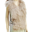 Genuine Mongolian/Rabbit Fur Fashion Vest
