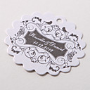Personalized Scalloped Favor Tag – Vintage Style (Set of 60)