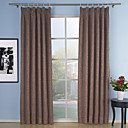 (Two Panels) Elegant Embossed Blackout Thermal Curtains