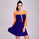 TS Color Block Pocket Shirt Dress (More Colors)