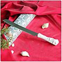 Starfish & Seashell Handle In Refined Ceramic Wedding Cake Knife