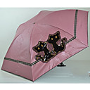 Cats Pattern Ultra-light Folded Umbrella