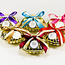 Shell Favor Holder With Bow (Set of 6)