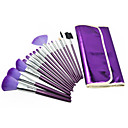 Professional Brush Set With Dark Lovely Pouch(16 Pcs)
