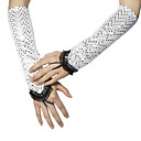 Spandex With Sequins Party/ Evening Fingerless Gloves (More Colors)