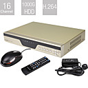 Entry-Level 16 Channel H.264 DVR (1000G HDD, VGA Output, Network)