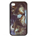 TP6 - Exquisite 3D Animal Pattern Back Cover for iPhone4 and 4s