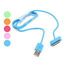 Multi-Color USB 2.0 Data Cable for iPhone, iPad (Assorted Colors)