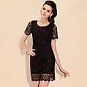 TS Sequin Fish Net Dress