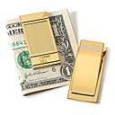 gepersonaliseerde gouden tint geld clip