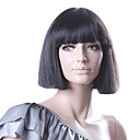 Capless Bob Style High Quality Synthetic Straight Black Ladys Fashion Wig